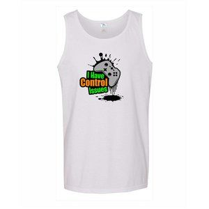 Youth Kids Control Issues Color A-Shirt Tank Top